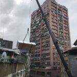 台北市士林區搬家至新北市中和區吊車作業搬運大型家俱
