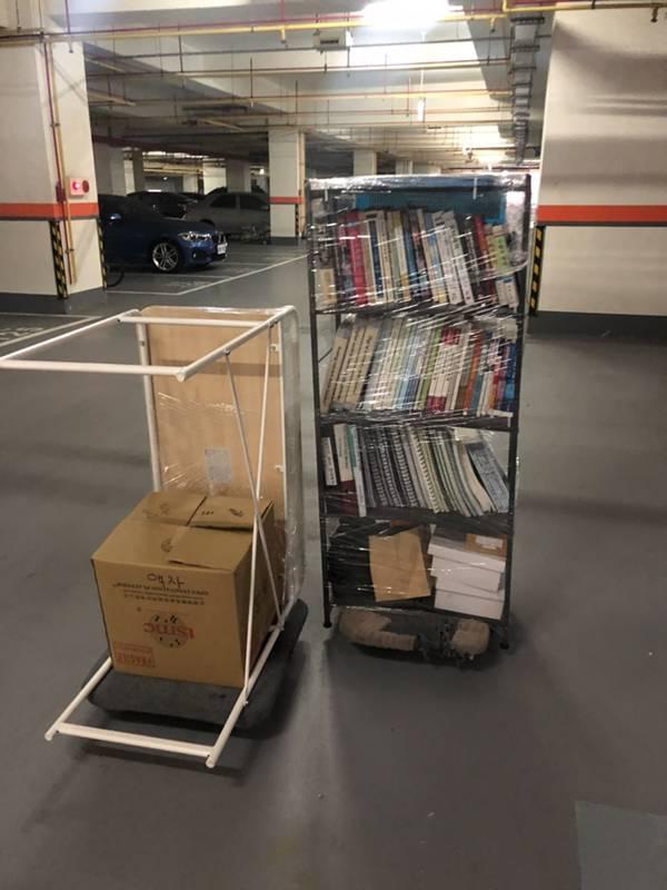 新竹市搬家案例.新竹市社區內家俱物品搬運移動5