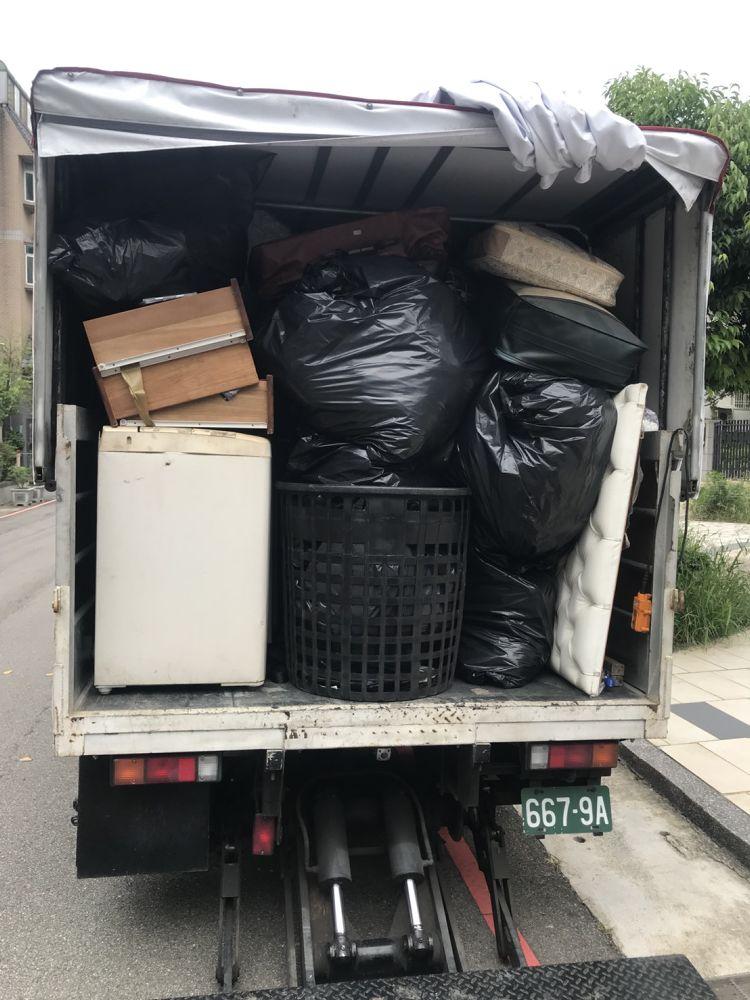 桃園市平鎮區搬家案例.家庭垃圾清運1